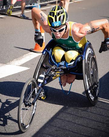 Bill Chaffey - 2013 Mooloolaba Triathlon; Mooloolaba, Sunshine Coast, Queensland, Australia; 17 March 2013. Camera 1. Photos by Des Thureson - disci.smugmug.com