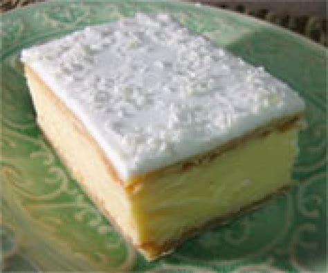 Recipe   SAO Vanilla Slice