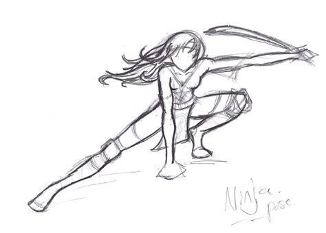 pose ninja  reset  deviantart
