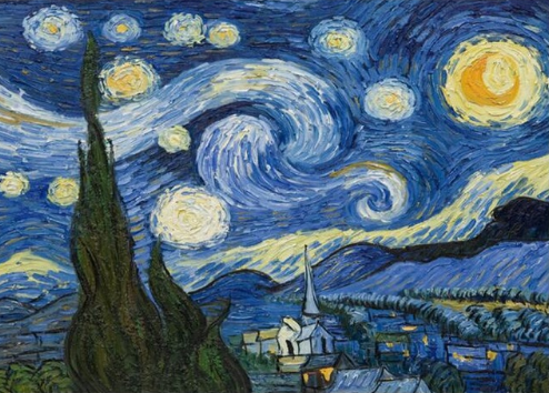 Starry Night Van Go Paint By Number Kit Surprises And Gifts