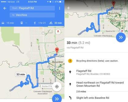 How Accurate Are Google Maps Cycling Directions I Love