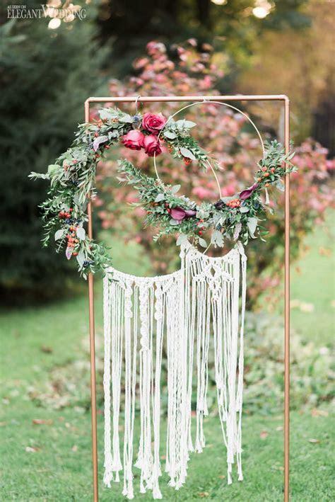 Vibrant Bohemian Wedding Inspo for Fall   ElegantWedding.ca