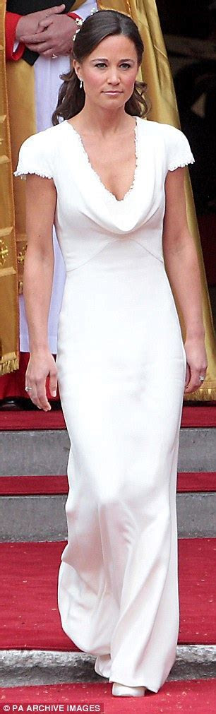 Pippa Middleton's Alexander McQueen bridesmaid dress