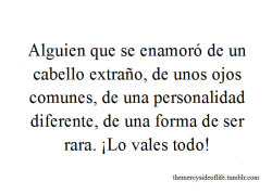 Frases Amor Ojos Personalidad Cabello Themercysideoflife