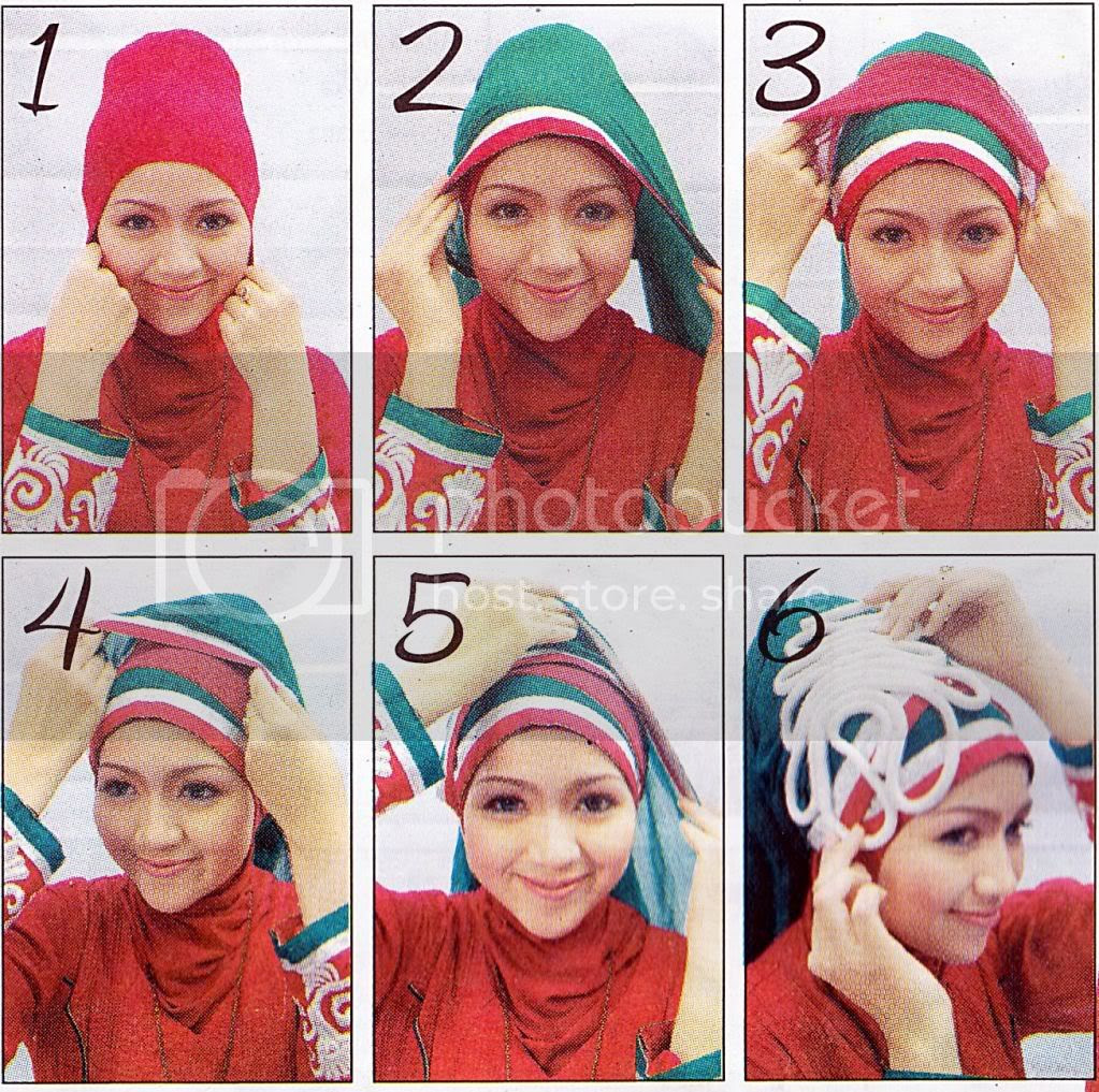 Hijabers Tutorial Sakinah Tutorial Tips Jilbab Simple Aksen Lapis