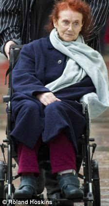 And now: Elaine McDonald at the supreme court as she appealed against Kensington and Chelsea's decision to with support for a night carer.