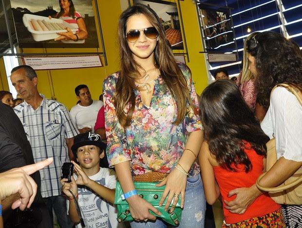 Bruna Marquezine na festa de 'Salve Jorge' (Foto: Roberto Teixeira /EGO)