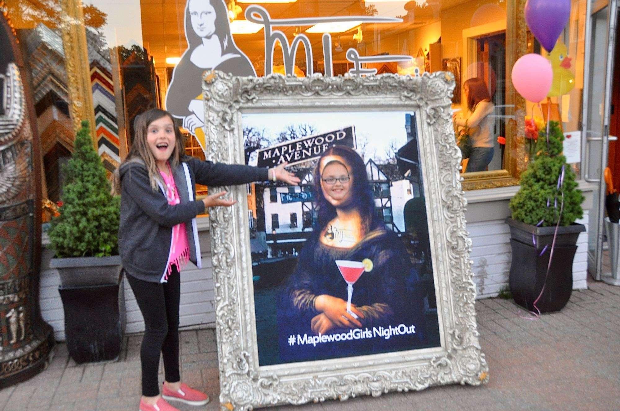 Girls Night Out Mona Lisa Framing