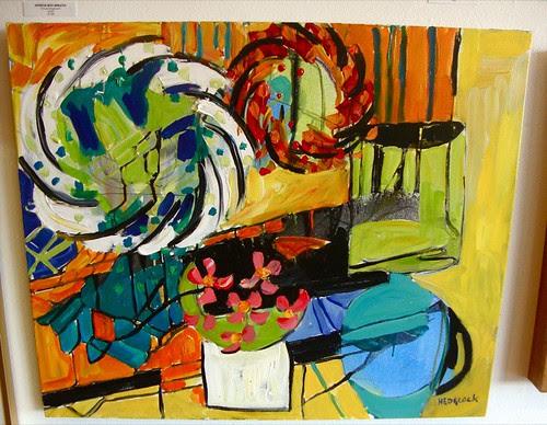 Randy Hedgcock / Artspace Shreveport / Impromptu exhibit by trudeau
