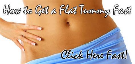 flat tummy fast health beauty