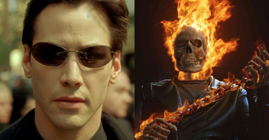 The Matrix 4 Ghost Rider Keanu Reeves Ghost Rider
