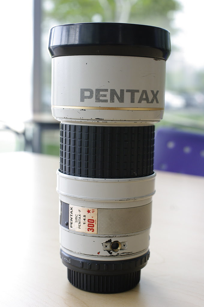 Pentax F* 300mm f/4.5 Test Shots