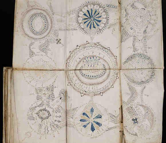 Folio de la sección cosmológica