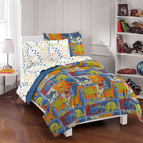 Dream Factory Dino Blocks Comforter Set - JCPenney