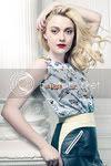 Dakota Fanning Elle February Cover Fashion Style
