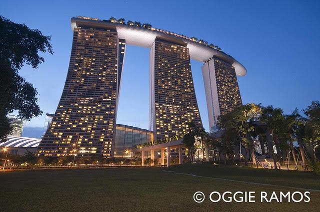 Singapore Marina Bay Sands Ultrawide