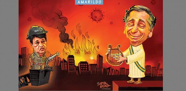 Bolsonaro prepara a imolação do povo