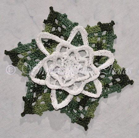 Water Lily Snowflake