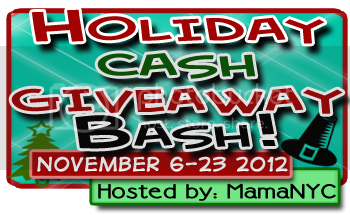 Holiday Cash Giveaway Bash Banner