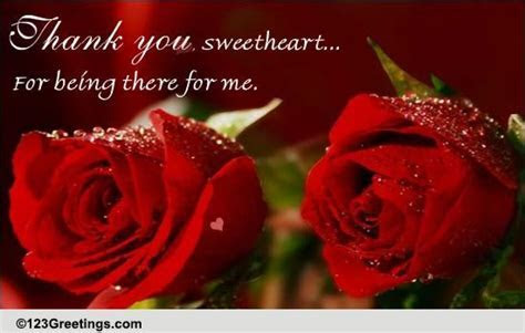 Thank You Sweetheart! Free Thank You eCards, Greeting
