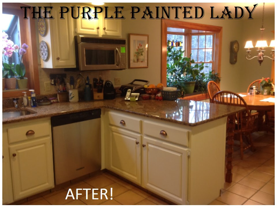 Do Your Kitchen Cabinets Look Tired?   The Purple Painted Lady