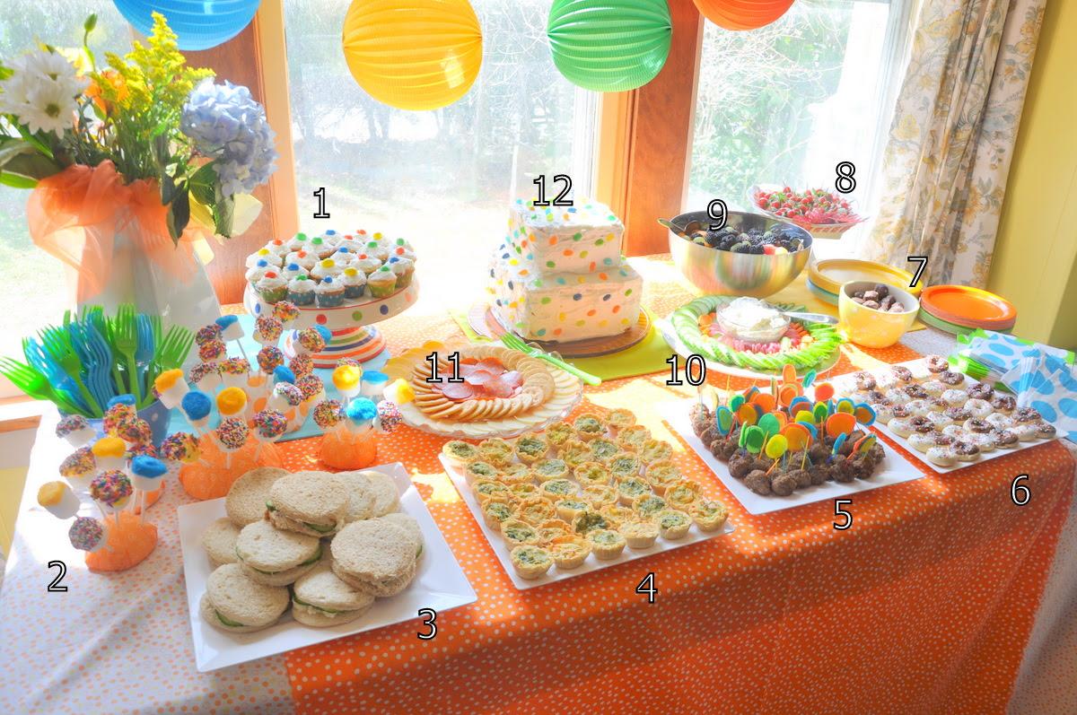 Evan's Second Birthday: Food - bebehblog