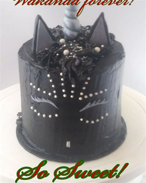 Shuri Black Panther unicorn cake in buttercream   cakes by