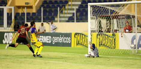 Sport foi superior e venceu a Socorrense com facilidade / Jorge Henrique/Estadão Conteúdo