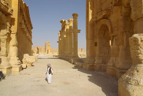 Child in Palmyra