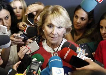 Has Spain finally seen the last of Esperanza Aguirre?
