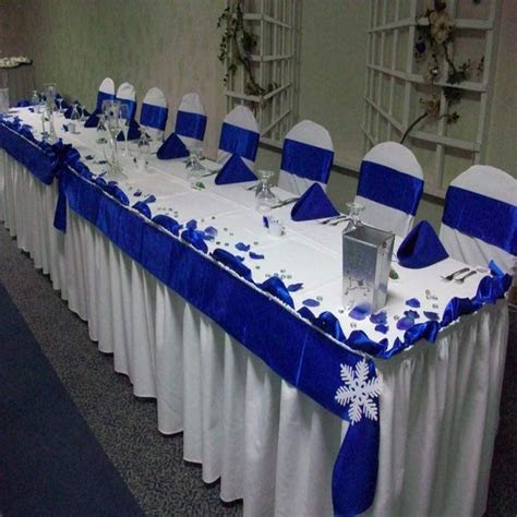 Wedding Decoration Royal Blue And White   Decoration For Home