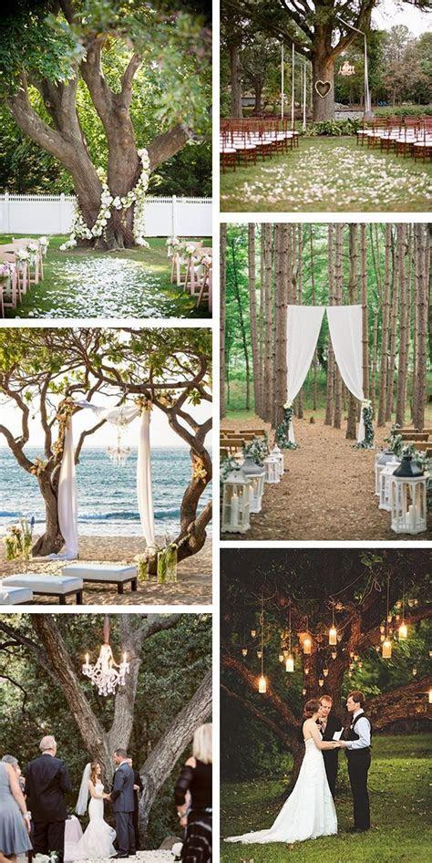 outdoor wedding ceremony ideas   wedding floral   decor in