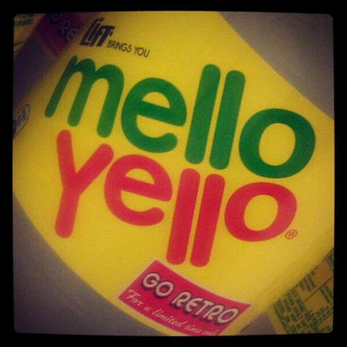 Mello Yellow! Oh my childhood!
