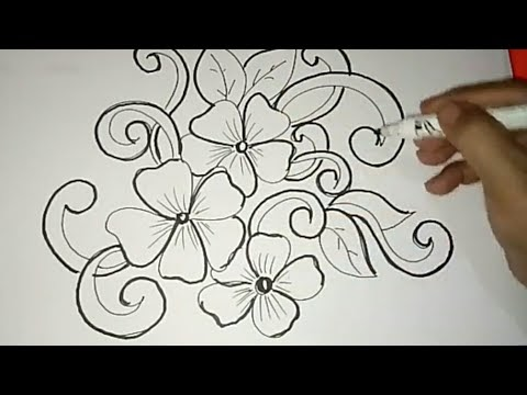 Berikut Gambar Batik Bunga Ornamen 1 Terupdate