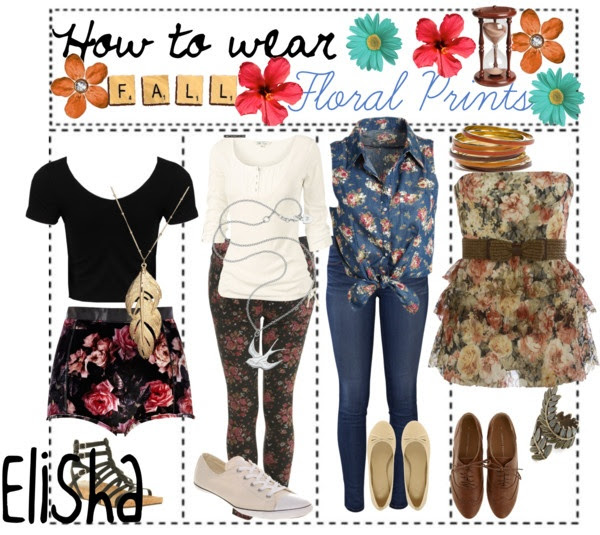 """How to wear Floral Prints"" by the-fabulous-tip-girls ❤ liked on Polyvore"