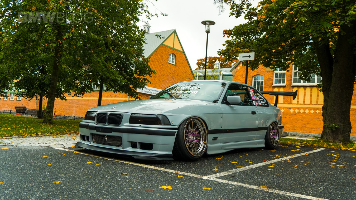 Bmw 3 Series E36 With Musk Customs Wing Bmw Car Tuning