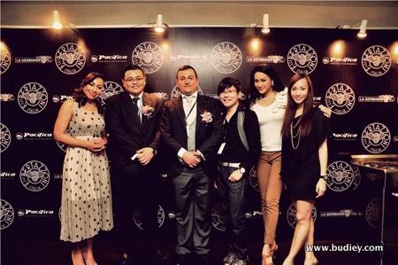 Ning, Mr John Chor, Graziano Soliani, Xavier Mah, Dynas & Belinda Chee