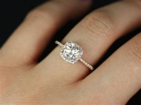 Thin Band Engagement Rings   Durham Rose