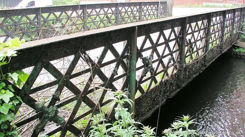 Footbridge at Belper River Gardens by Andrew Handyside