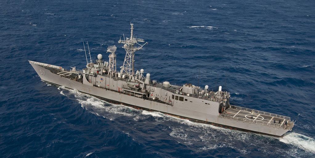 USS Reuben James (FFG 57) Pacific Ocean March 23 2012