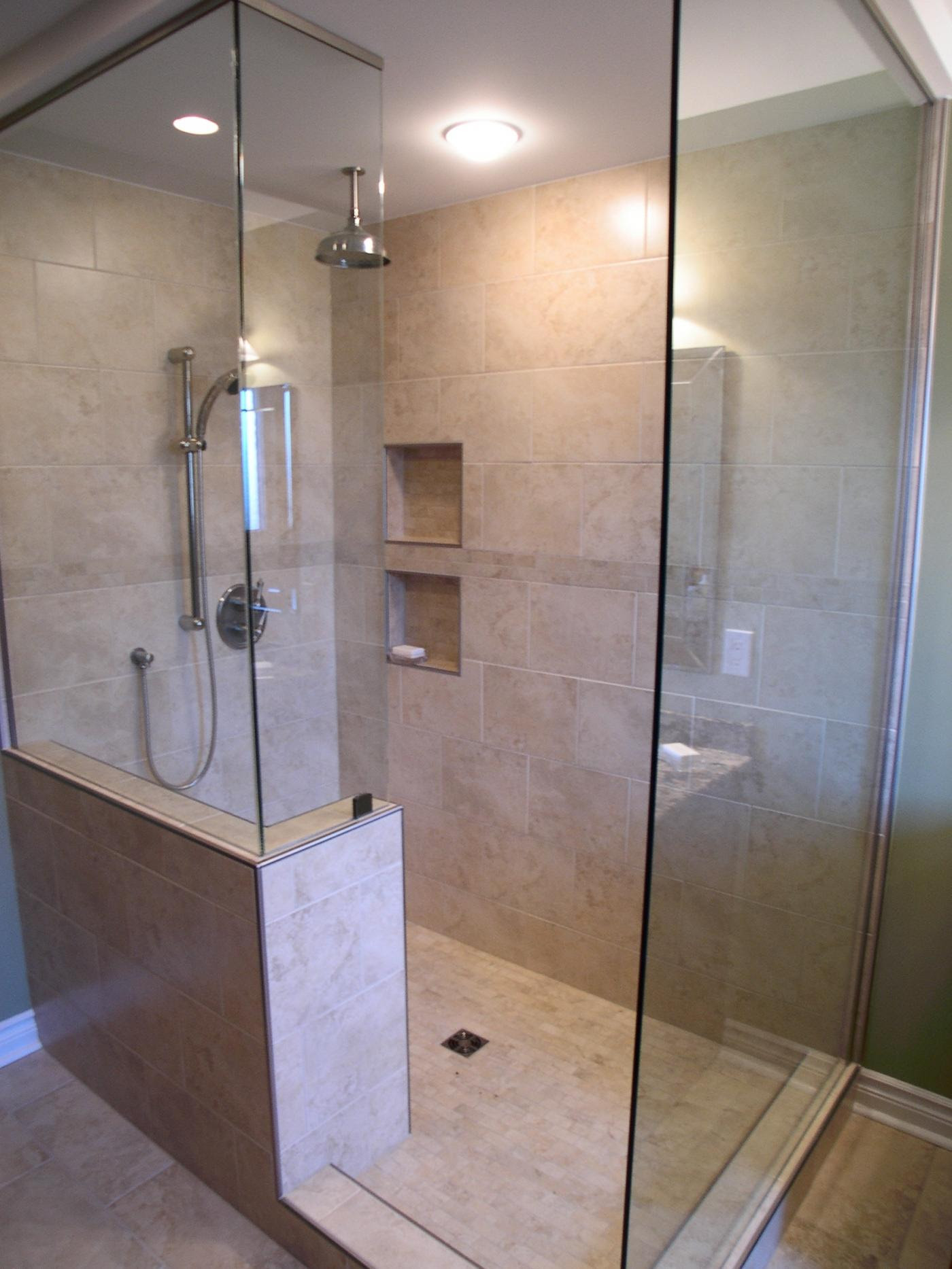 Walk In Shower Design Ideas | Cloakroom Ideas
