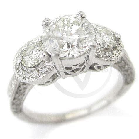 cut antique style  stone pave diamond