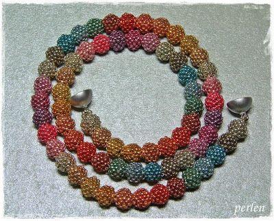 v-perlen: Perlchenkette