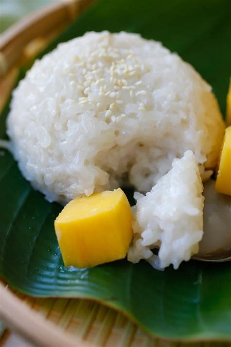 mango sticky rice easy delicious recipes