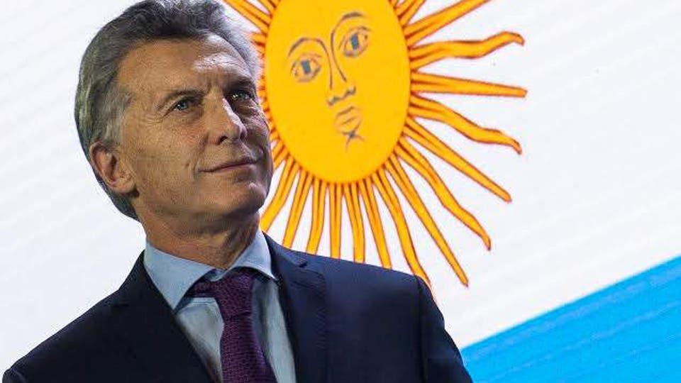 El presidente de la Nación, Mauricio Macri foto: DyN Archivo
