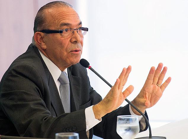 O aliado de Michel Temer Eliseu Padilha, que deixa o cargo de ministro da Aviação Civil