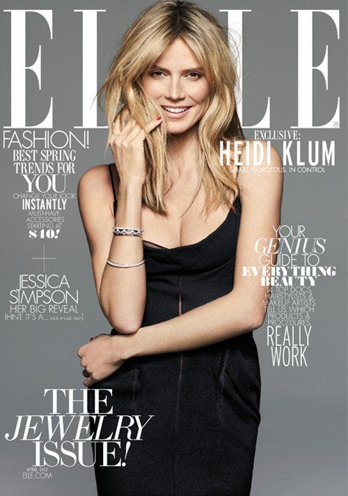 ELLE magazine - April 2012, Heidi Klum