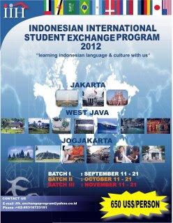 Indonesian International Student Exchange Program 2012 IISEP  Haeril Halims Blog