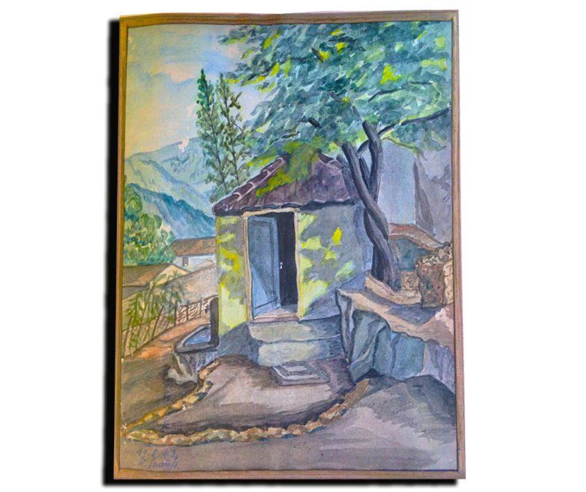 πίνακας ζωγραφικής Κατούνα