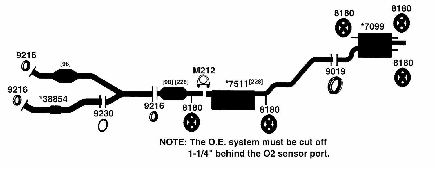 2000 Lexus Rx300 Exhaust System Diagram